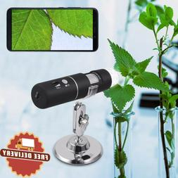 1000wireless digital handheld microscope with charging cable