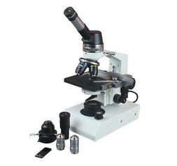 1500x Professional Biology Phase Contrast Microscope w Geolo