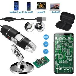 Jiusion 1600X USB Endoscope Digital Microscope Magnification