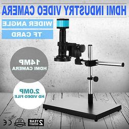 2 output ports HDMI USB Industry Digital Stereo Microscope C
