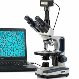 SWIFT 2500X Trinocular Compound Microscope LED Digital Lab V