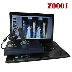 2MP 1000X 8 LED USB Digital Microscope Endoscope Zoom Camera