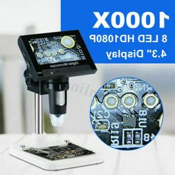 4.3inch 1000X LCD Screen Digital Video Electronic Microscope