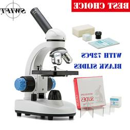 40X-1000X Compound Microscope Student All-Metal Optical Lens