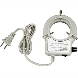 AmScope 56-LED Reinforced Microscope Dimmer Ring Light w Rin