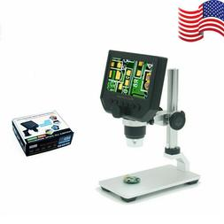"""600X 4.3"""" LCD 3.6MP Electronic Digital Video Microscope for"""