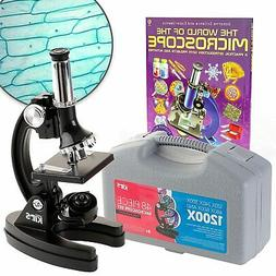 AmScope 120X-240X-300X-480X-600X-1200X Educational Metal Arm