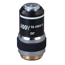 OMAX 100X  Achromatic Compound Microscope Objective Lens