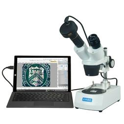 OMAX 20X-60X Binocular Stereo Student Microscope with Dual L