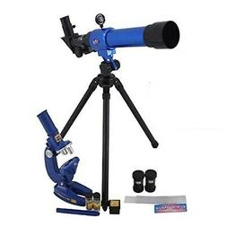 Childrens Science Microscope and Telescope Set with Tripod K