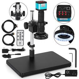 Digital Video Microscope Camera HDMI USB LED Magnifier Indus