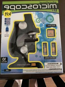 Discover Biology with Microscope Kit and Slides for Students