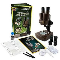 National Geographic Dual LED Student Microscope – 50+ pc S