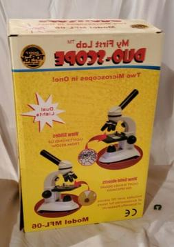 My First Lab Duo-Scope Microscope MFL-06 New Sealed in Box