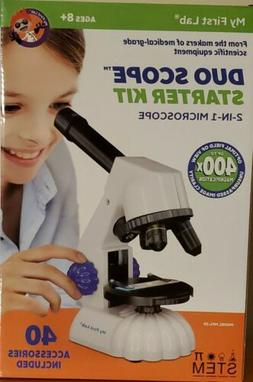 My First Lab Duo Scope Starter Kit: 2 in 1 microscope
