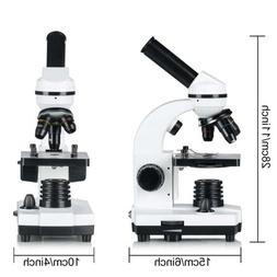 Educational Biological Microscope for Students 40X-640X 6-Po