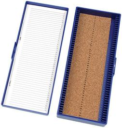 Heathrow Scientific HD15996A Blue Cork Lined 50 Place Micros