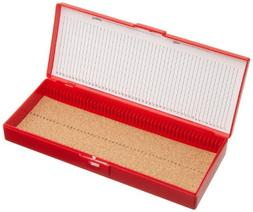 Heathrow Scientific HD15996B Red Cork Lined 50 Place Microsc