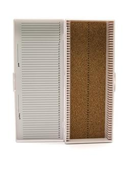 Heathrow Scientific HD15996C White Cork Lined 50 Place Micro
