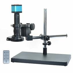 14MP HDMI Microscope Camera Kit For Industry Lab PCB USB Out