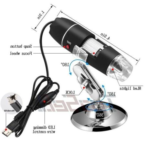 1600X Magnifier Digital Camera for PC Laptop Android
