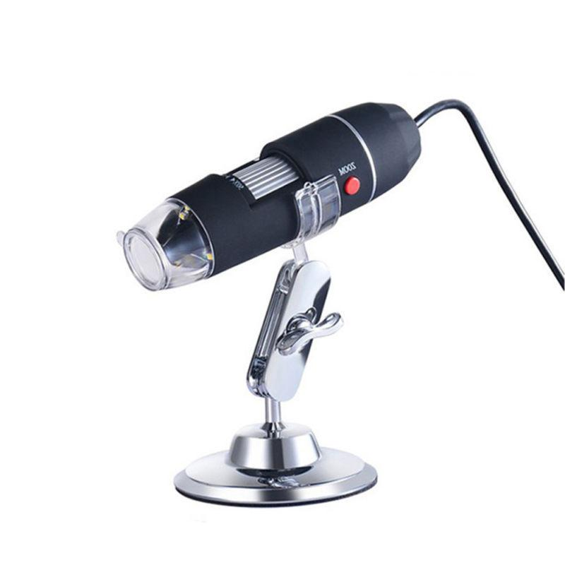 Digital 2MP Microscope Endoscope Zoom Magnifier+Stand