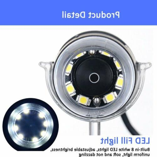 1000X 8LED Microscope Magnifier +