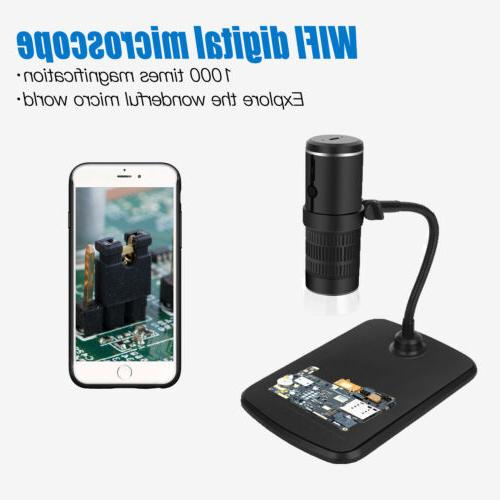 1000x digital wifi microscope magnifier camera