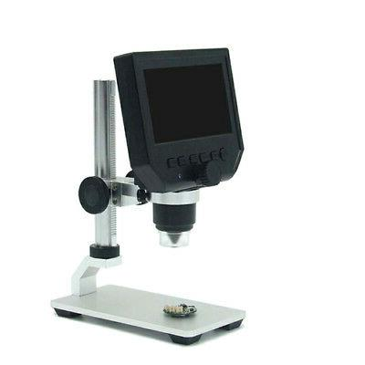 1080P Digital Microscope HD OLED 1-600X Magnifier G600 Portable LCD