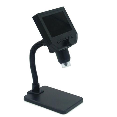1080P Microscope HD OLED Magnifier Portable