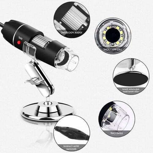 2MP 2.0 Digital Zoom Camera Magnifier+Stand