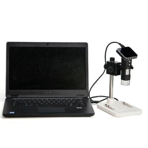 "SWIFT Cordless Digital Microscope with 2.5"" LCD"