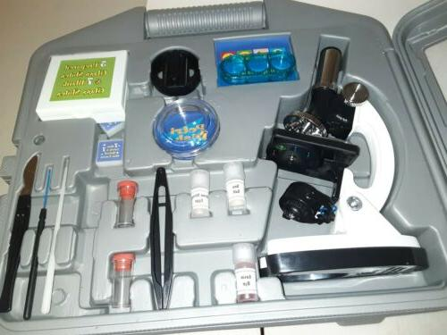 52Piece Accessory Set Arm +Base Biological Microscope