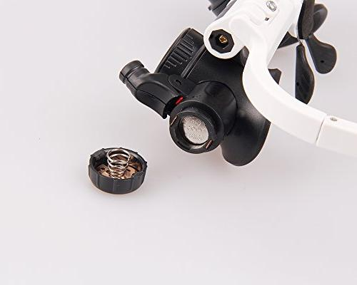 Magnifying 23X Magnifier Glass Eye Currency Book Jewelry Necklace Magnifier Glasses Biology Loupe