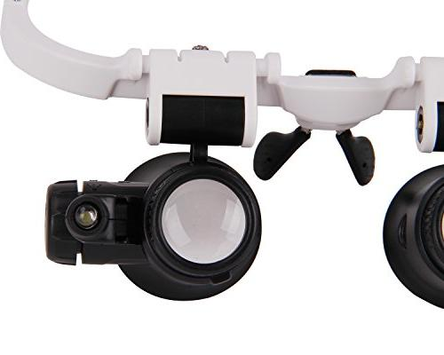 Magnifying Glasses 8X 23X Magnifier Tool Currency Errors Necklace Biology Loupe
