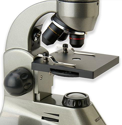 Carson 40x-400x Student Compound Microscope with Universal Smartphone