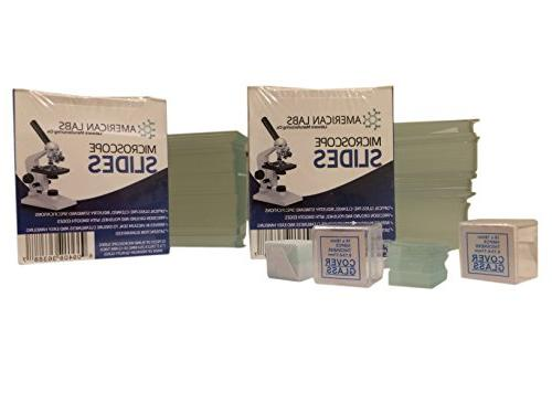 American BS-144P-200S-22-A Blank 200 Glass Cleaned - Packs Ground Edges