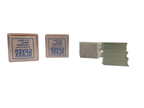 American BS-144P-200S-22-A Blank 200 Cover Glass Cleaned 2 Packs Ground