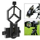Cell Phone Adapter Holder Clamp Clip Mount for Microscope Bi