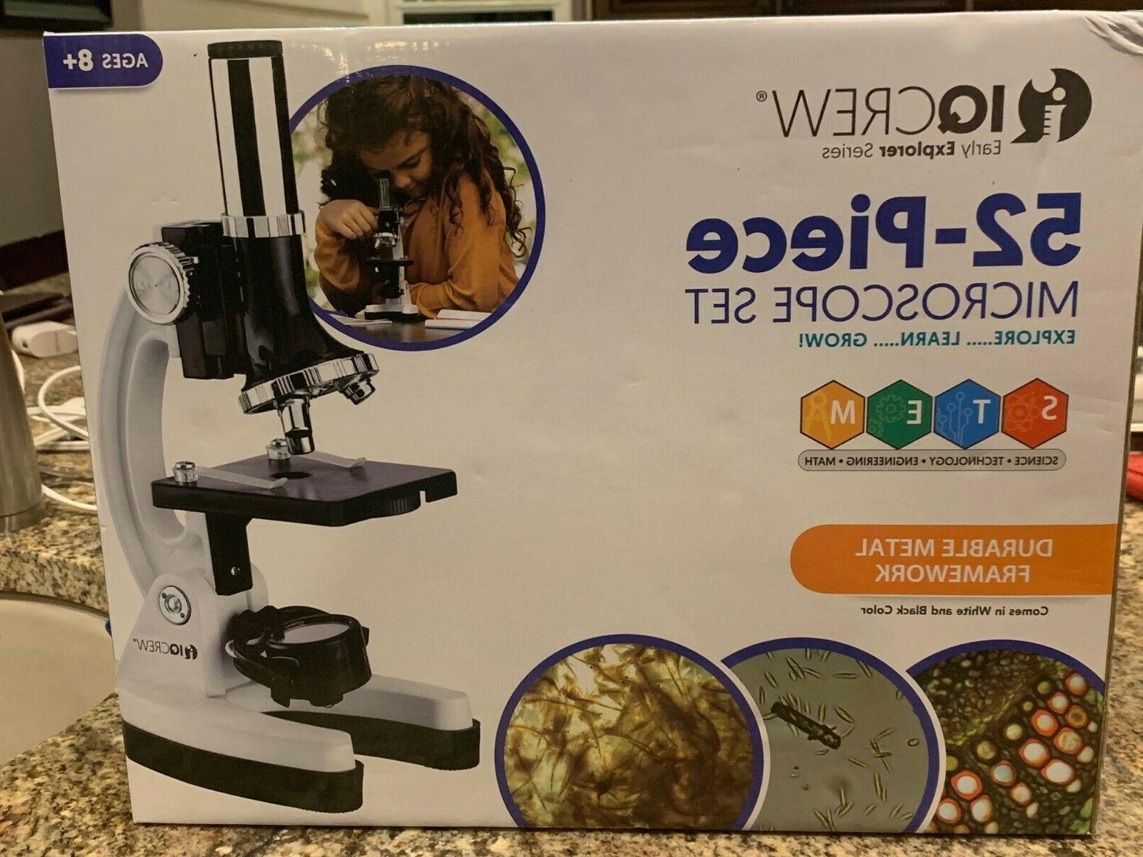 early explorer series 52 piece microscope set