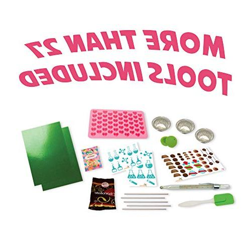 Playz Science Chemistry - Make Your and Candy Experiments Girls, & Ages 11, 12, 13+ Old