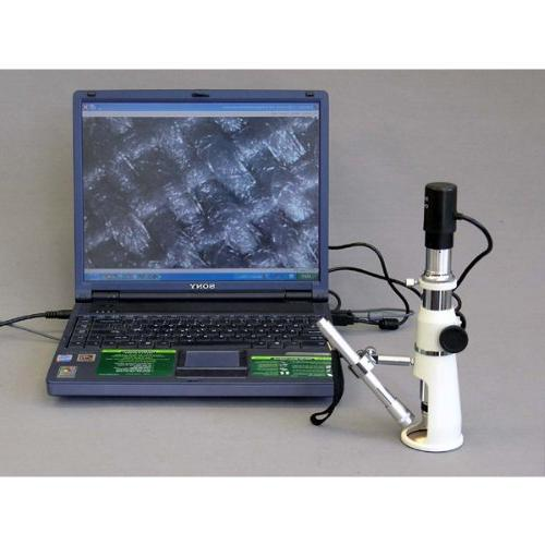 AmScope Handheld Measuring Microscope, 17mm of Includes Pen