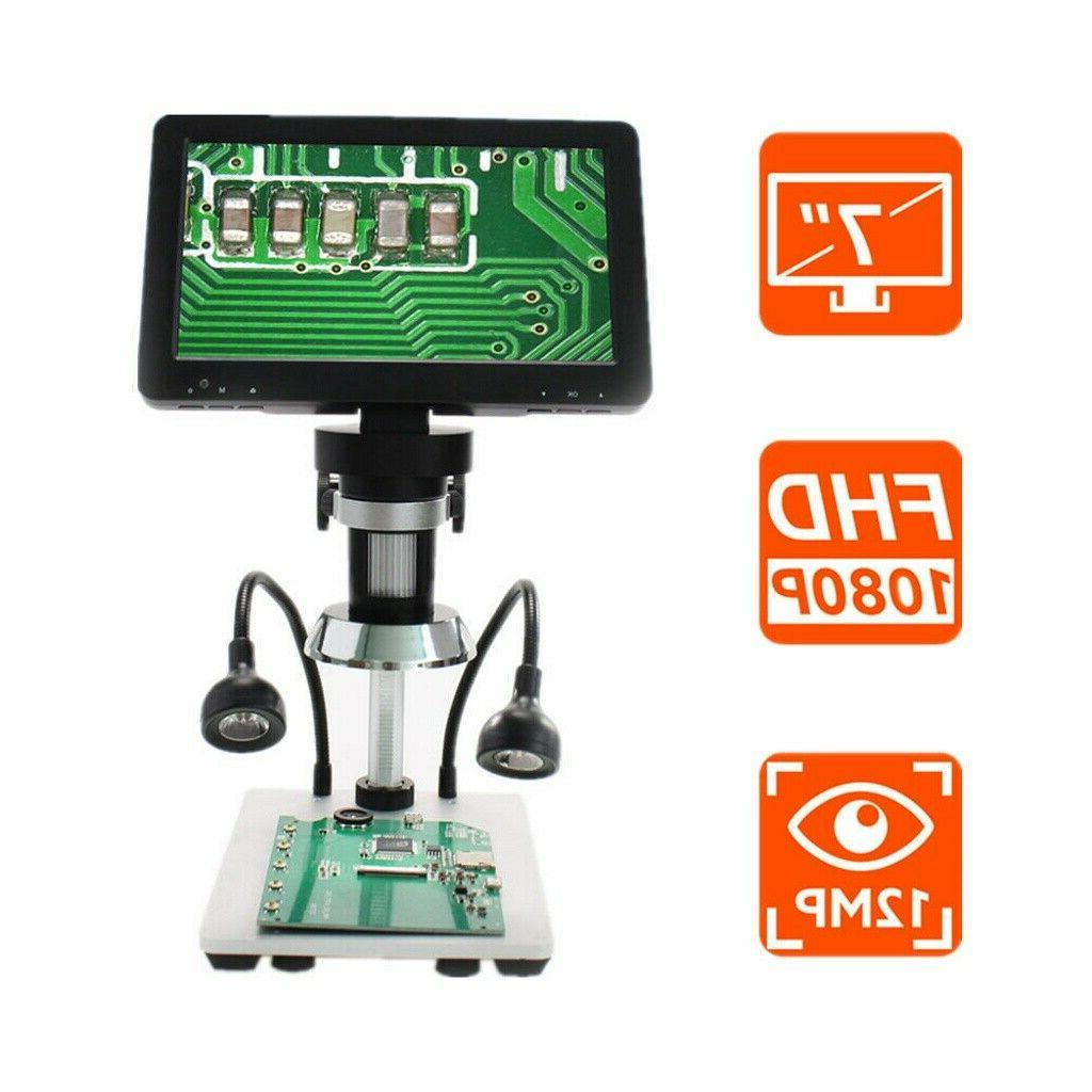 """Handheld 7"""" LCD 1080P Amplification +Remote"""