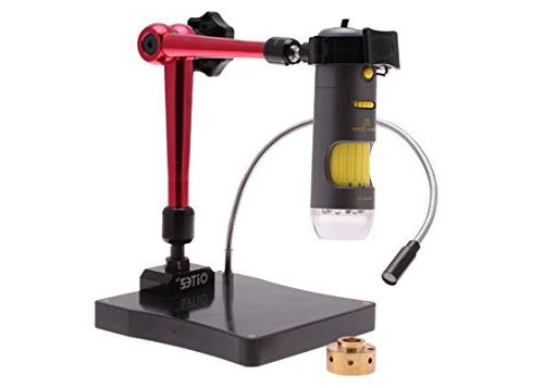 Microscope, Magnification, Upper LED Stand, Includes 1.3MP Camera