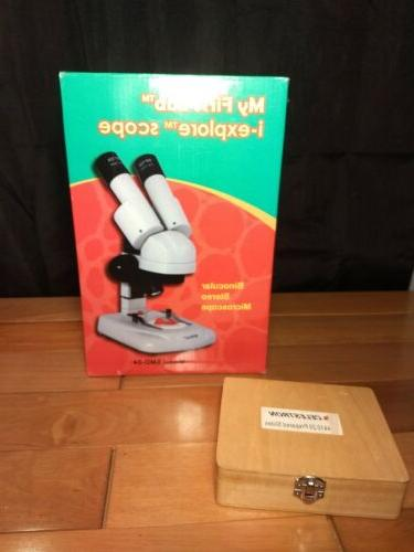 My First Lab i-Explore STEM Stereo Microscope