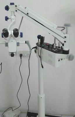New Dental Surgical Microscope/Motorized With Accessories De