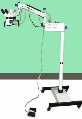 new dental surgical microscope motorized with accessories