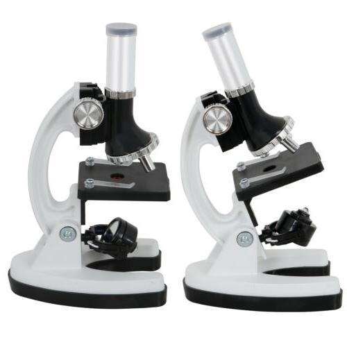 52 Pcs Kids Educational Learning Lab Microscope