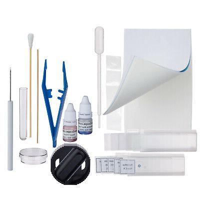 AmScope 40X-1000X LED Compound Prep Kit