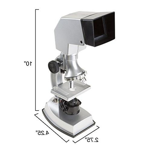 Microscope for Kids, Piece Educational Science 4-Way Magnification form to Viewing Boys and Girls by